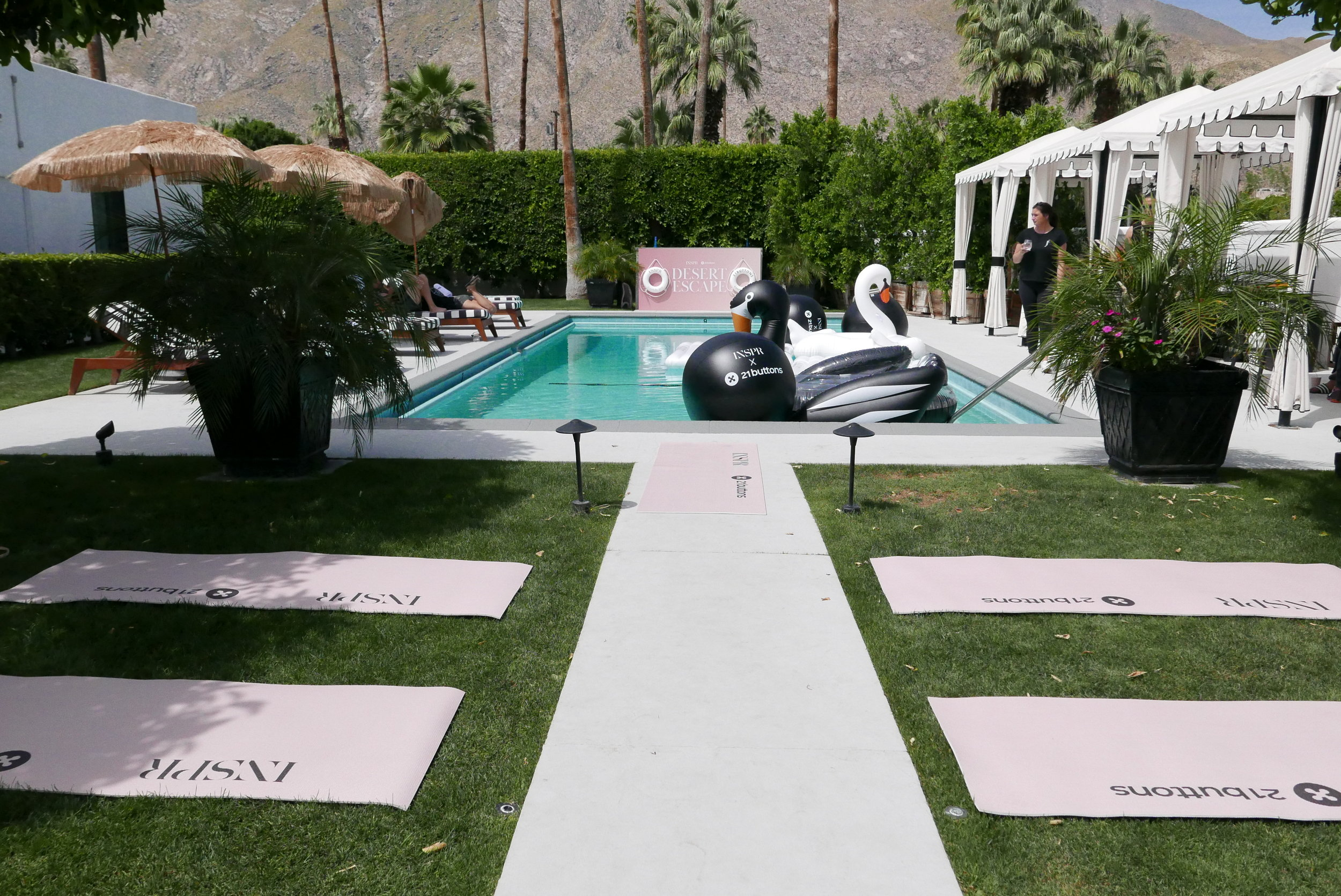 INSPR x 21 Buttons Coachella Influencer House