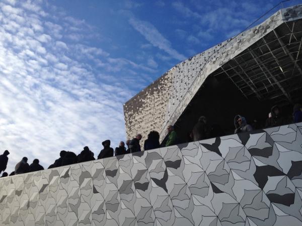Philharmonien i Paris af Jean Nouvel. Åbnede 14. januar 2015. Foto: EØ