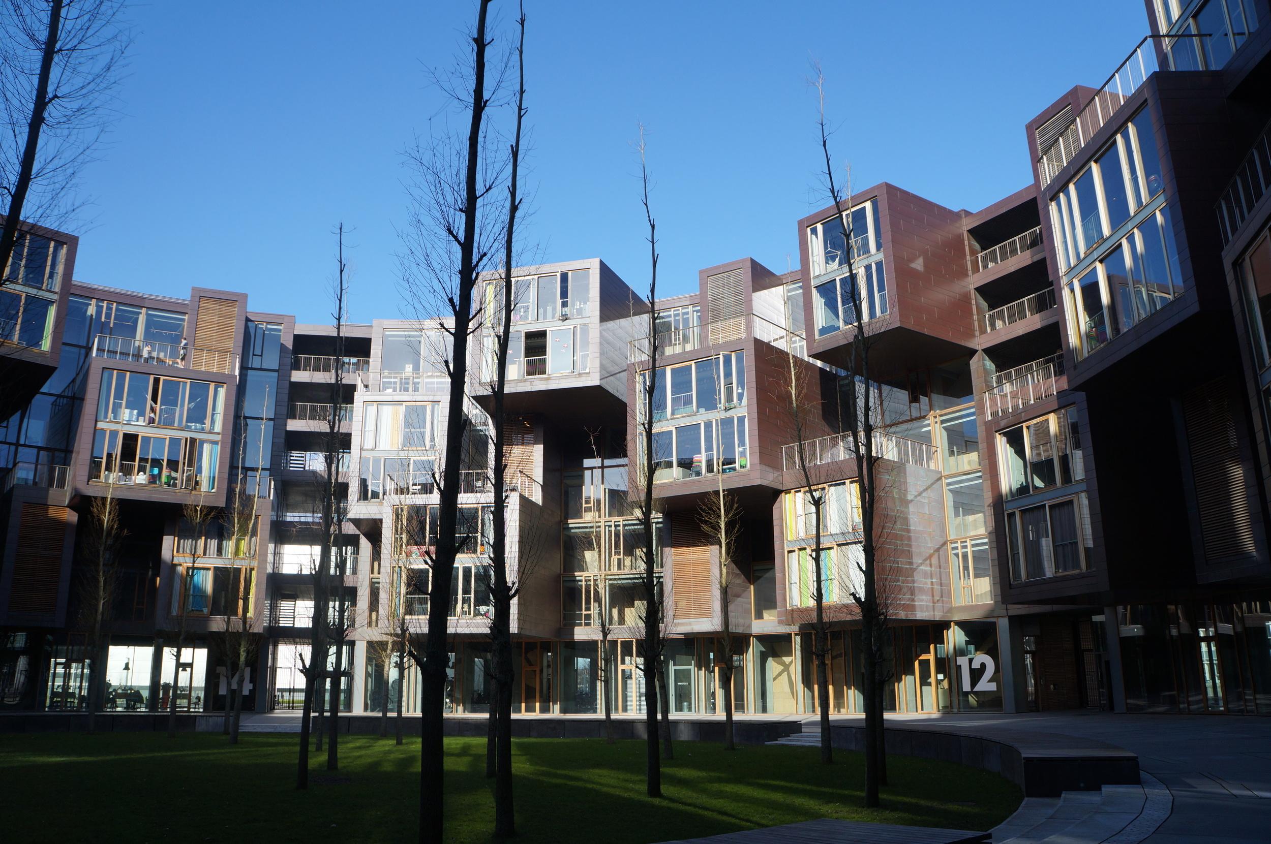 Tietgen Dormitory, Lundgaard og Tranberg. Photo: Experience Ørestad