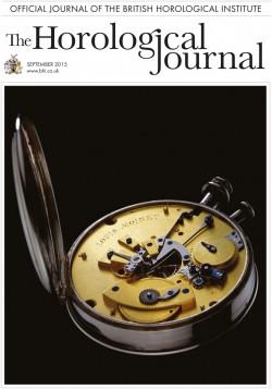 Horological Journal September 2015