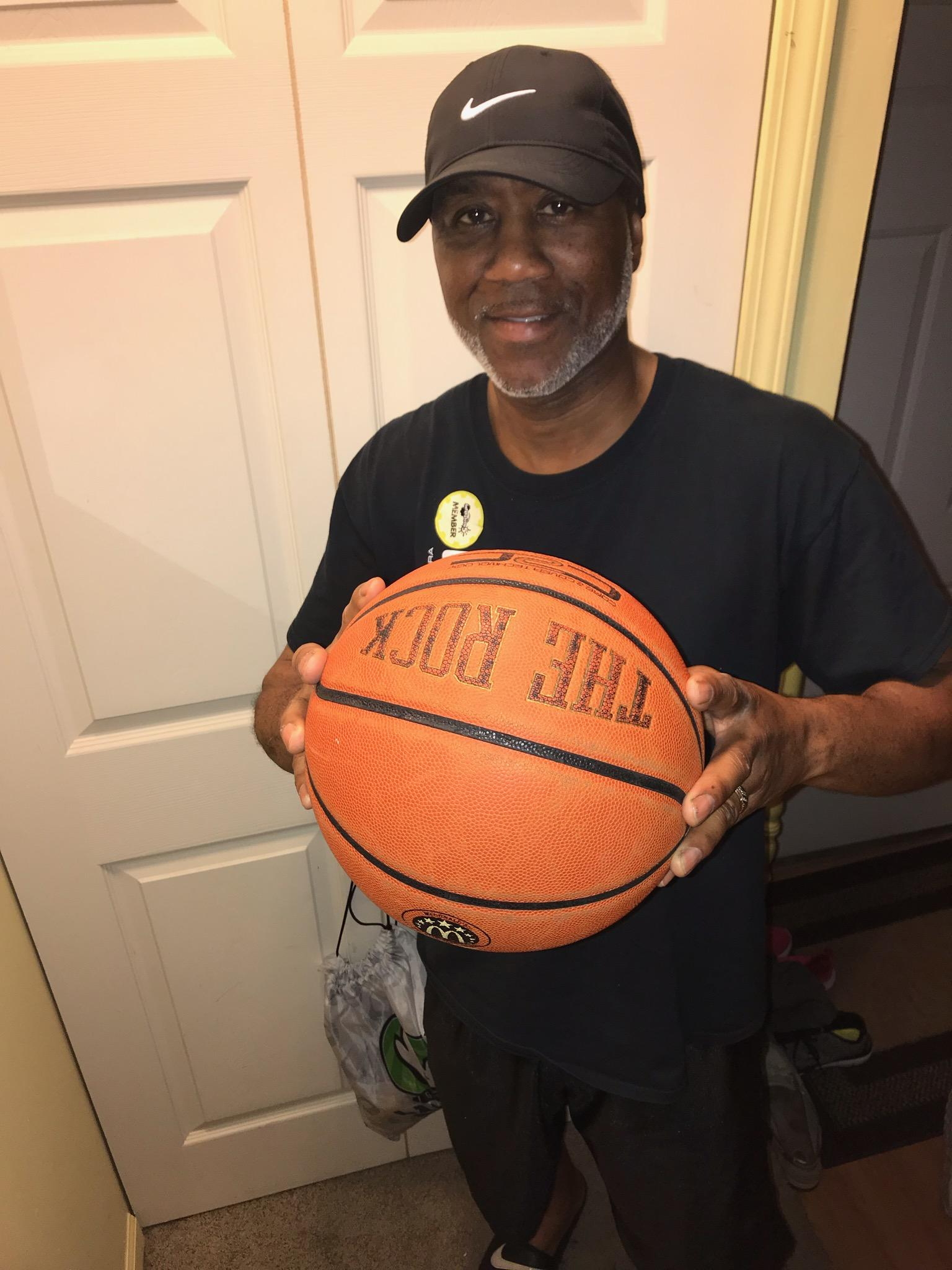 Basketball Camp's Coach Fred