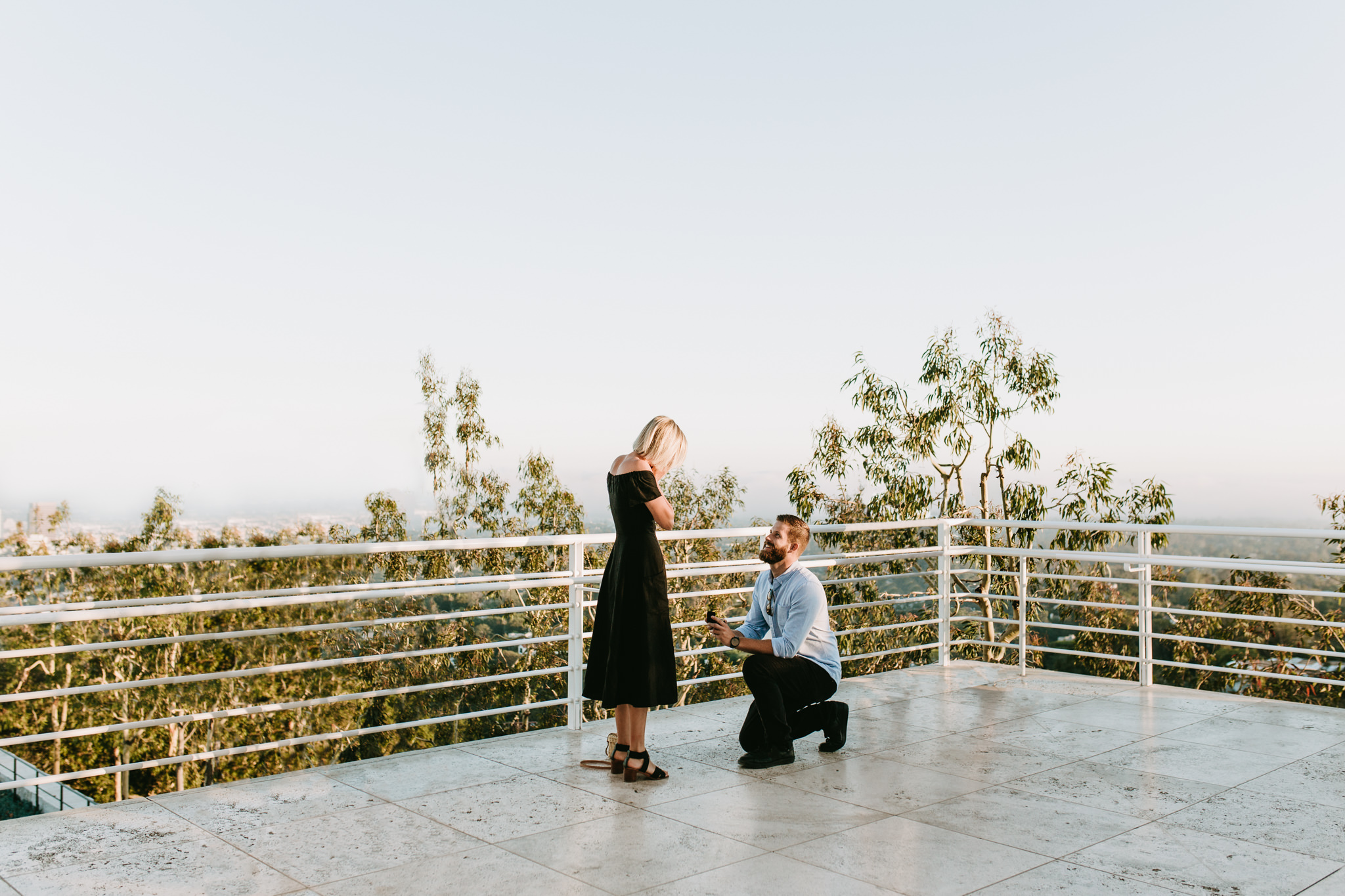Sam & Tanner - The Getty Center, Los Angeles, CA - Proposal