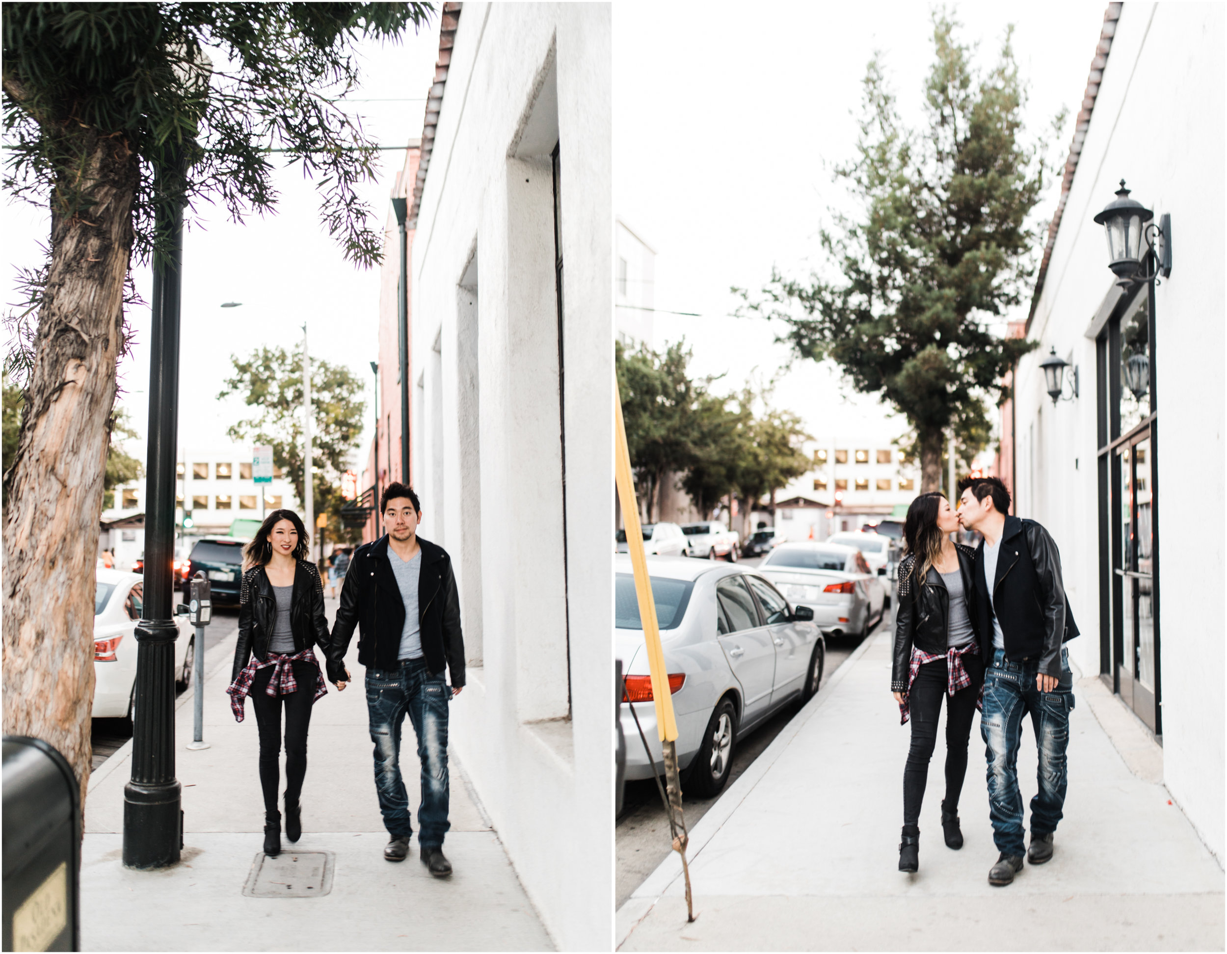 Sarah & Leonard - Old Town Pasadena, Pasadena, CA - Engagement Session | CRM Media | www.crm-media.com