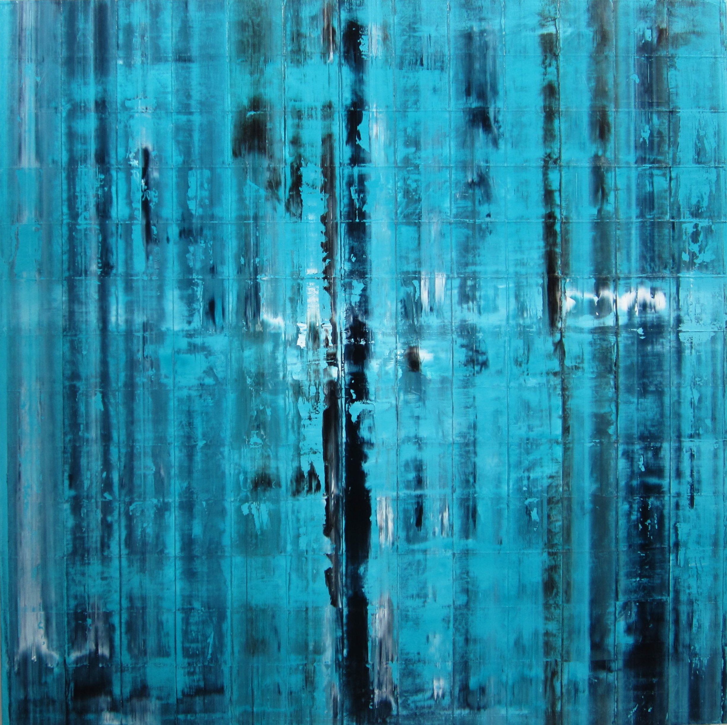 Untitled blue stripe