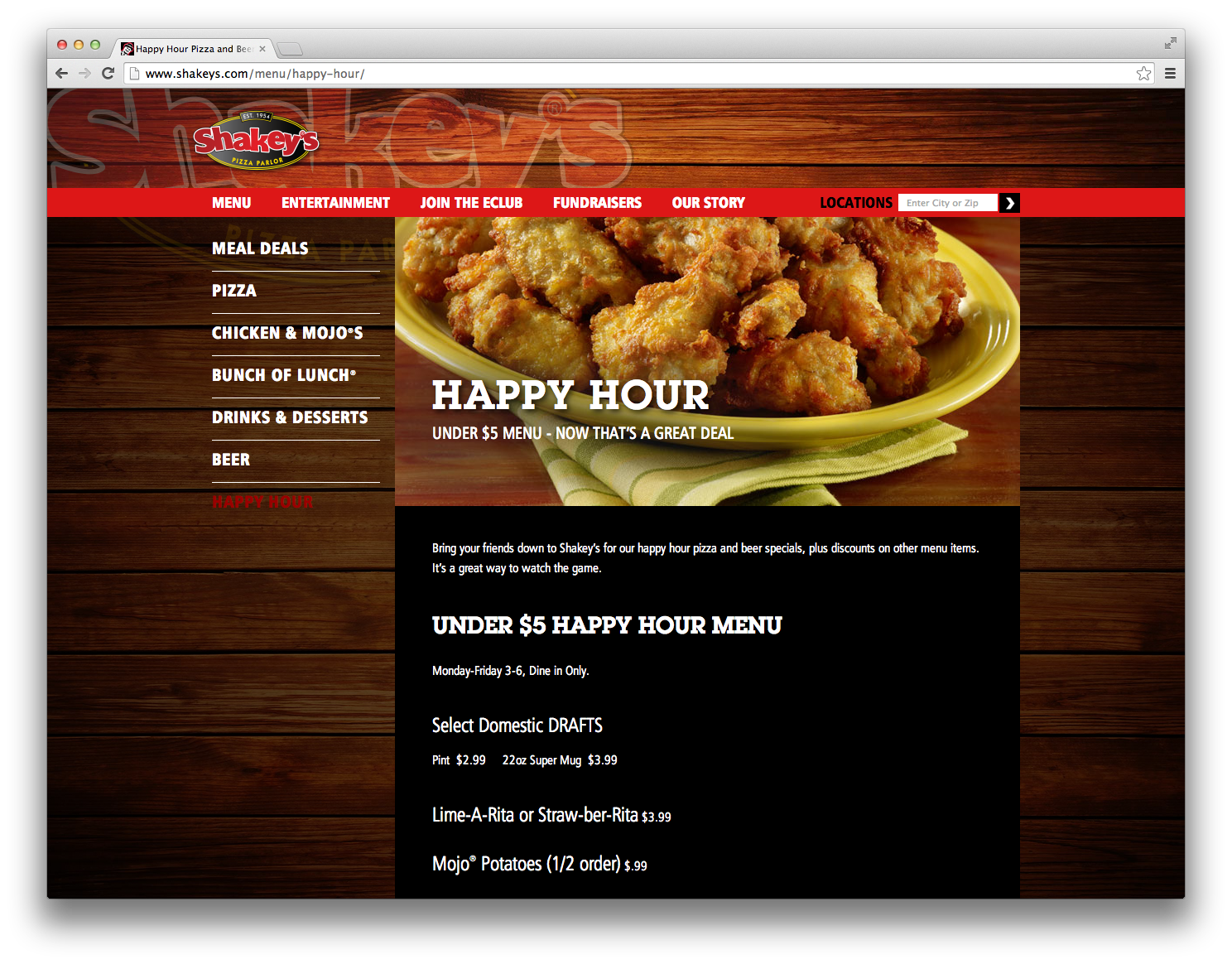 Shakeys-Browser-HappyHour
