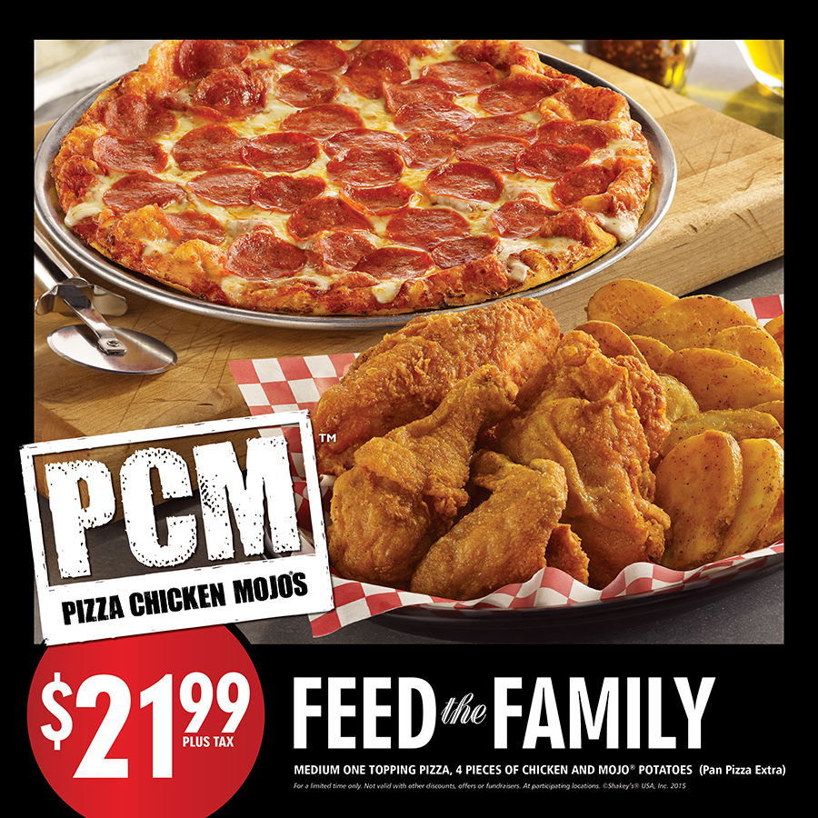 Feed the Family - Point of Sale, exterior window cling