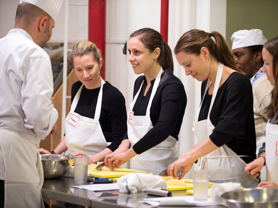 Spend your Monday learning how to cook healthy fare from the pros at the Natural Gourmet Institute.