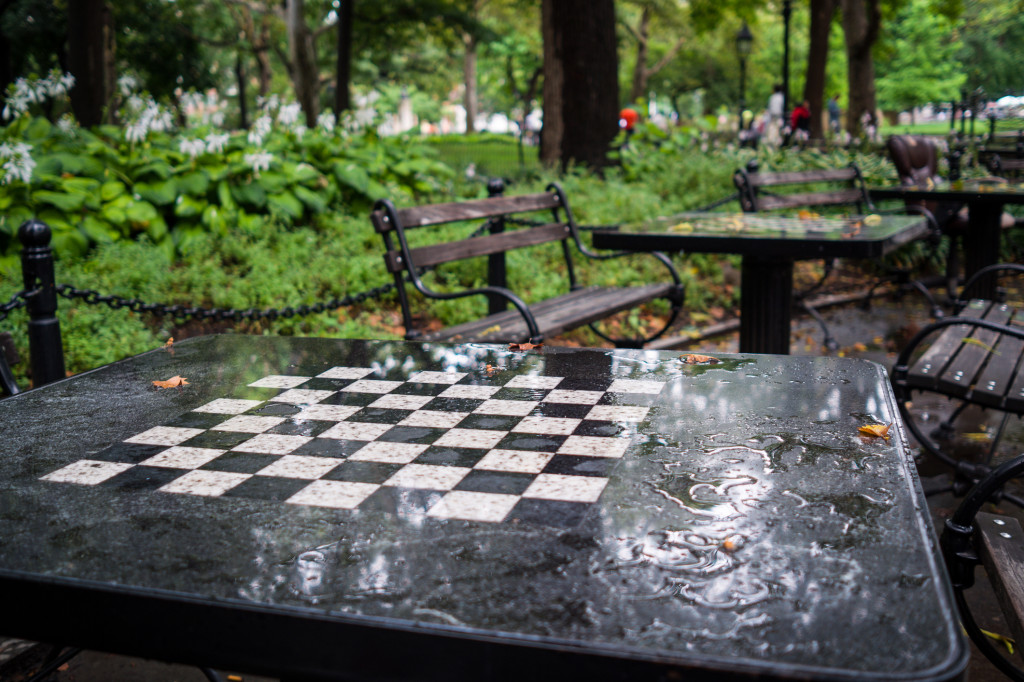 At the Chess Forum, Old-School New York Finds a Way to
