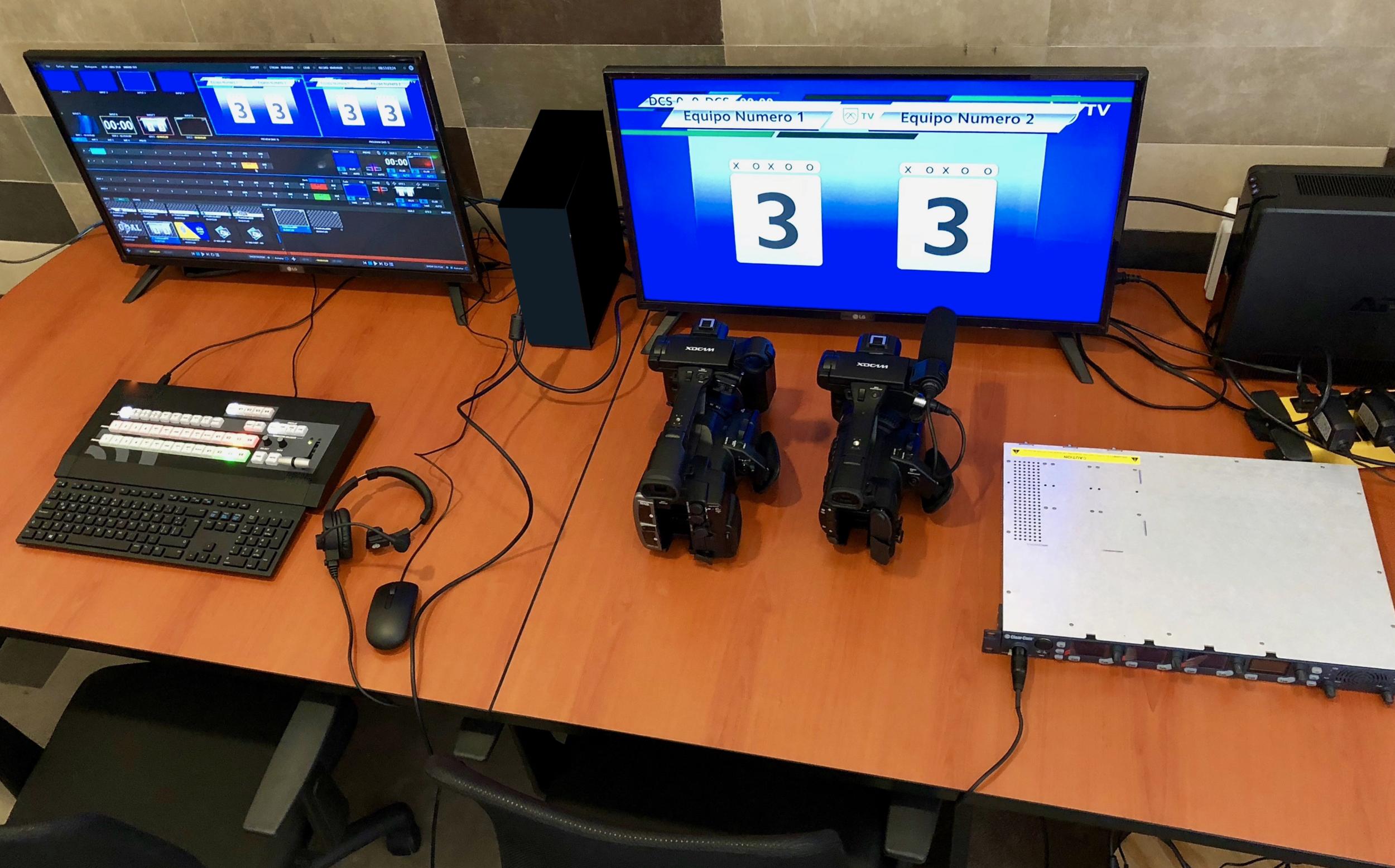 DelCampo TV (DCTV) Studio