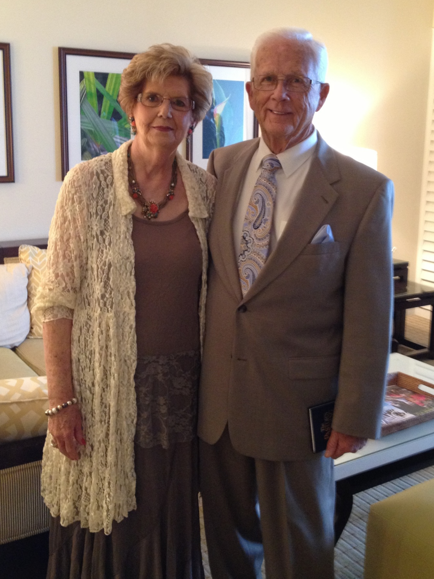 Larry and Mary Lou Myers