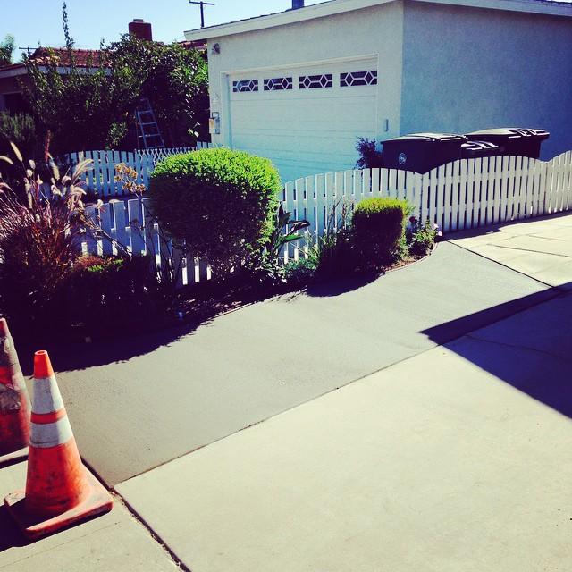 Mayo driveway widening. @ktmayo14 @dmayo14