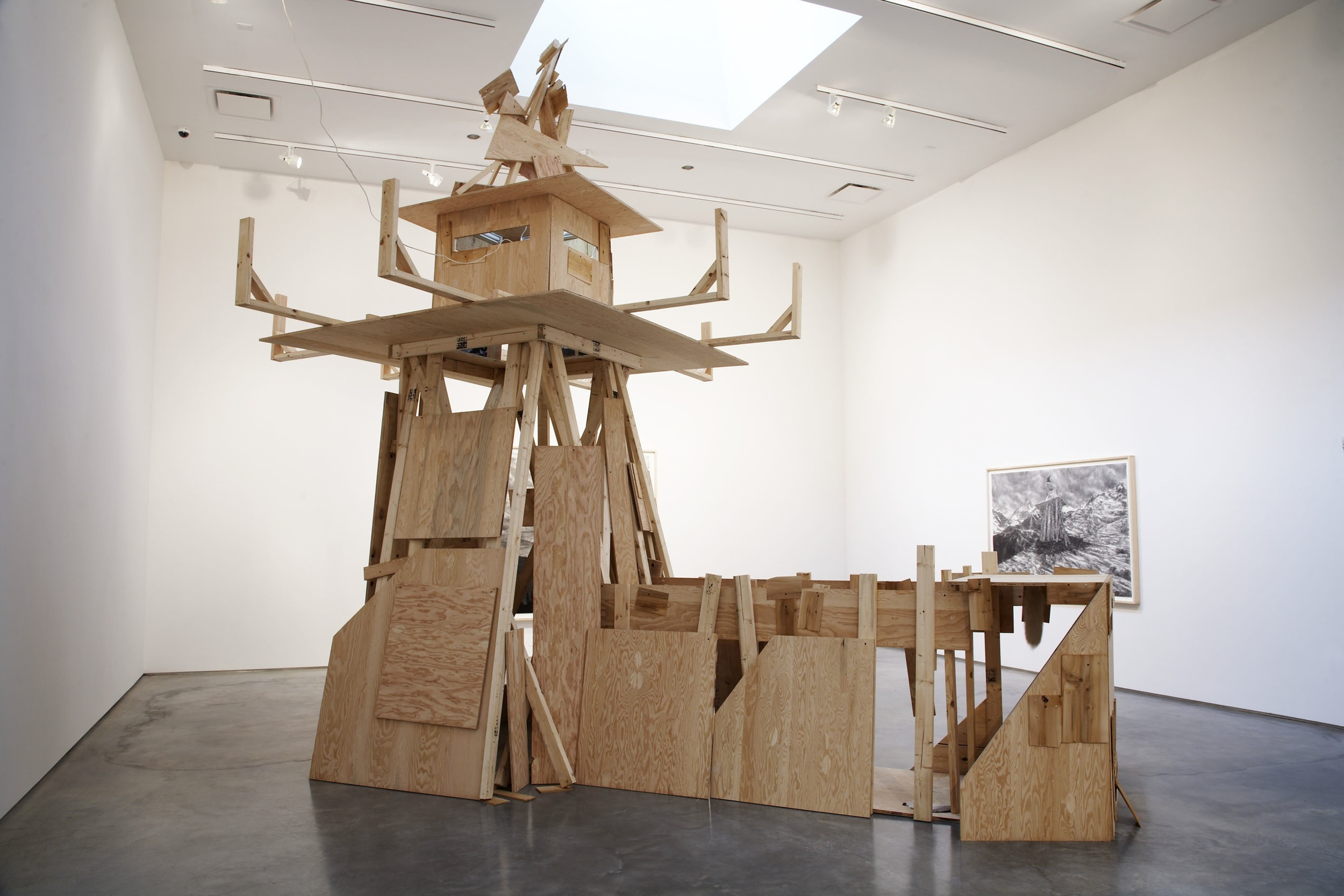 Installation view of Adam Helms at the Museum of Contemporary Art Denver, August 12, 2008 - January 18, 2009.