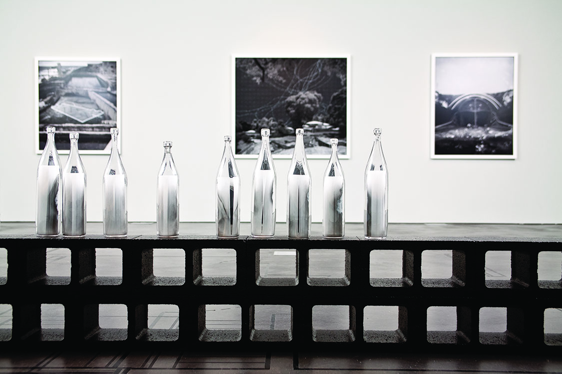 Installation view of   Anthony Goicolea: Related   at the Museum of Contemporary Art Denver, CO, 2009.