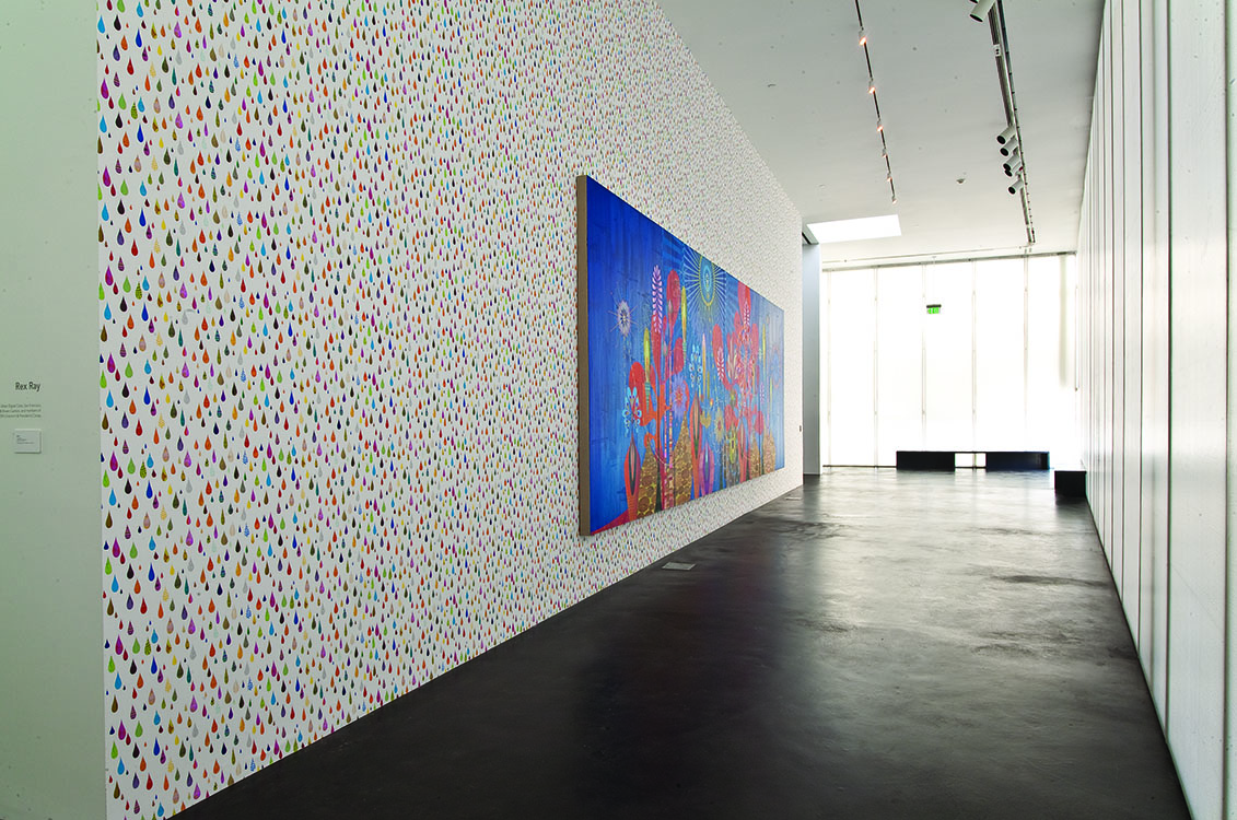 Installation view of   Rex Ray   at the Museum of Contemporary Art Denver, March 10, 2009 - January 3, 2010.