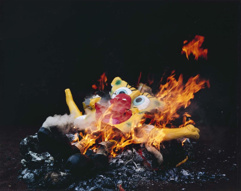 Trevor Appleson,      'Bob' Burnt at Dusk , 2007.C-print,   49 1/2 x 62 1/2 inches.© Trevor Appleson.