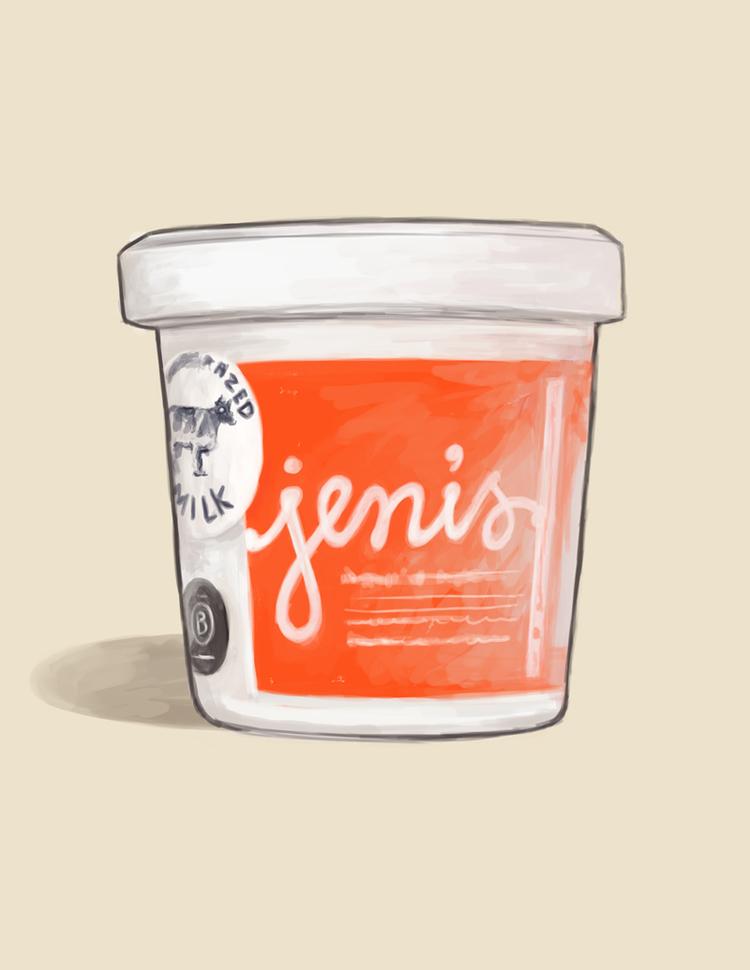 An illustration by Patrick Moore for Jeni's Splendid Ice Creams  (Credit: moorepat.com)