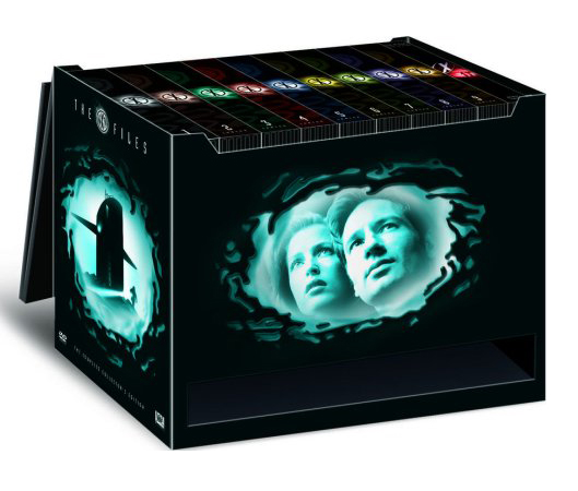 A box set of  The X-Files . Photo Credit: Amazon.