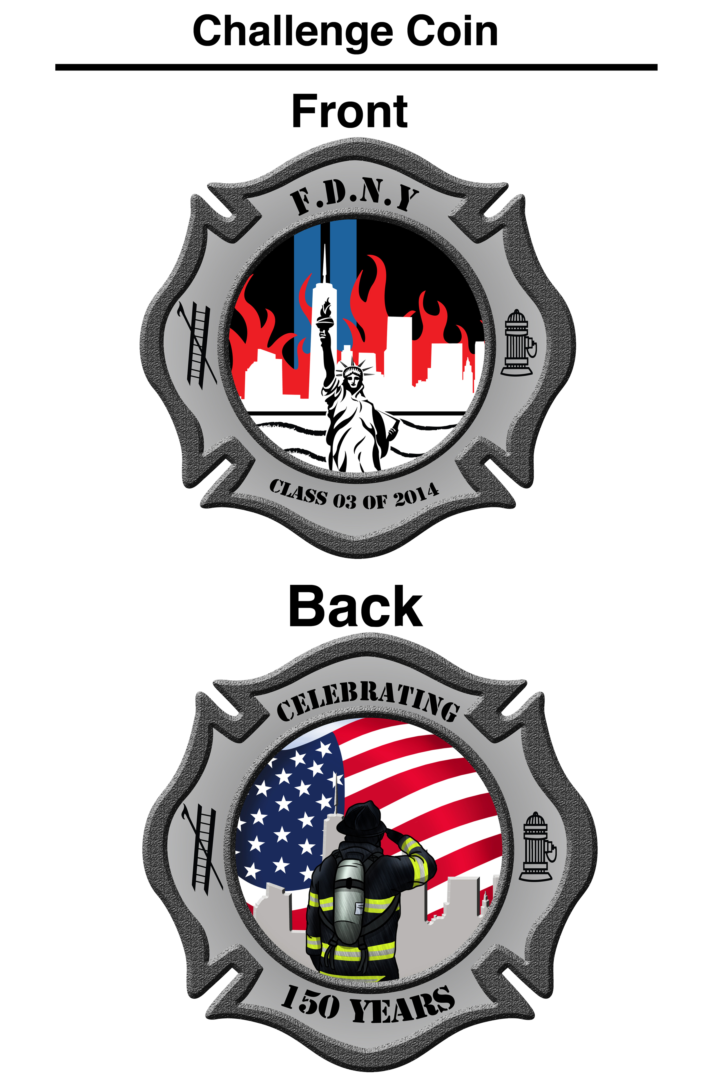 FDNY Challenge Coin Design