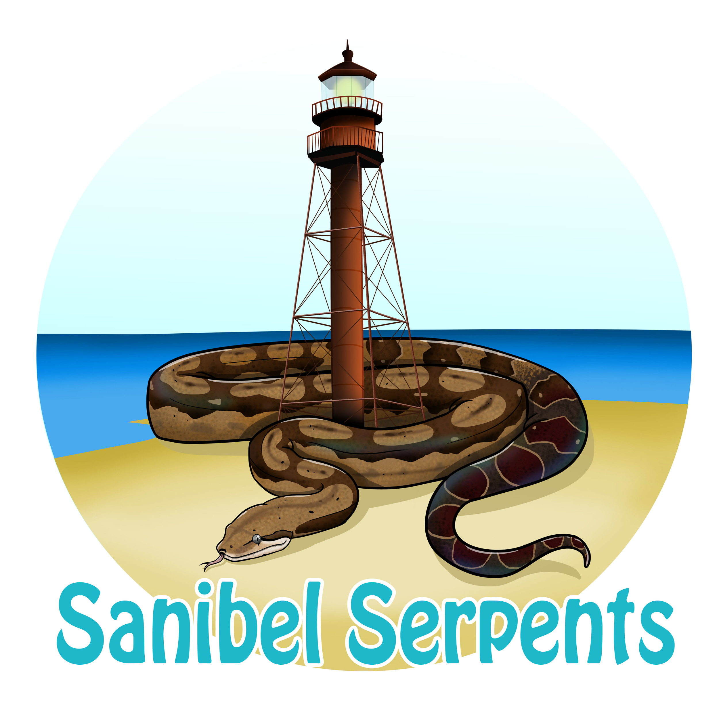 Logo Design for Sanibel Serpents