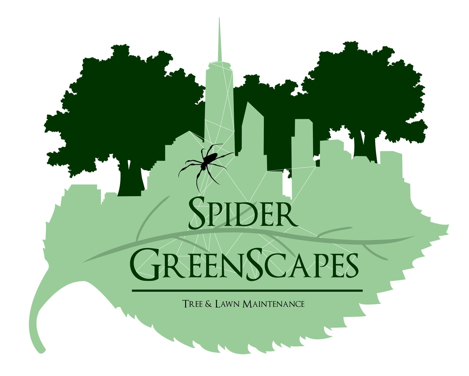 Logo Design for Spider GreenScapes