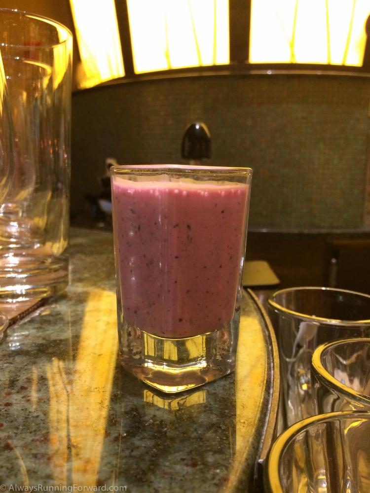 Rise & shine for this deelish smoothie.