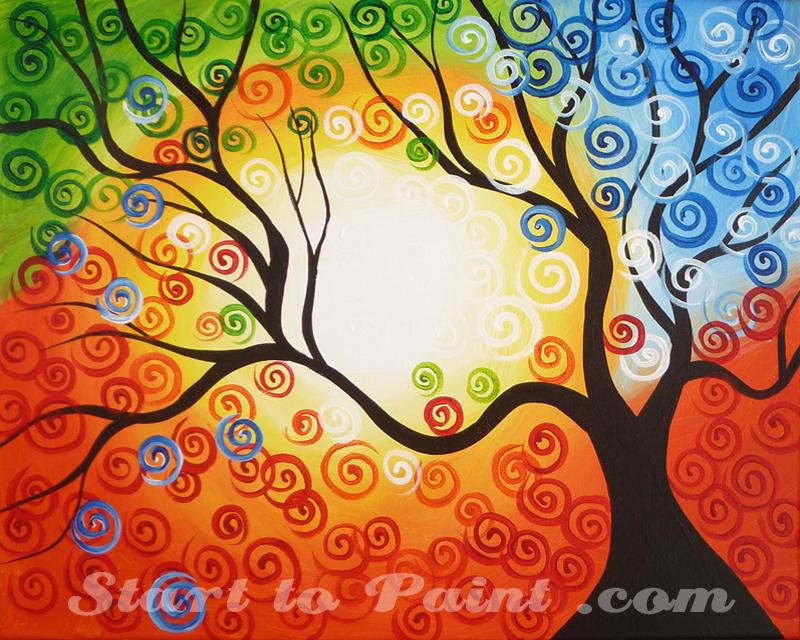 Colorful Summer Tree.jpg