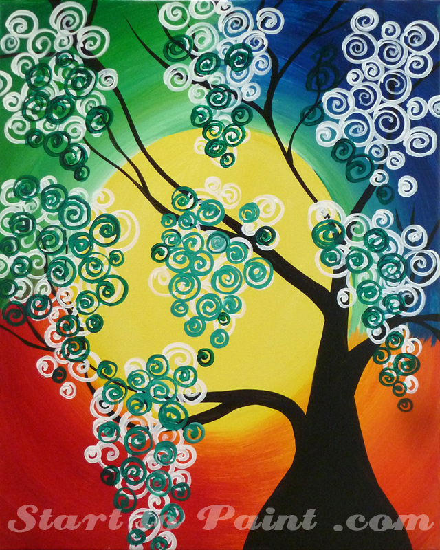 Colorful Tree - Green Accent.jpg