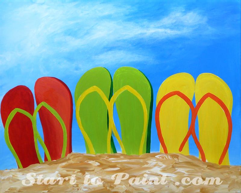 Flip Flops on the Beach.jpg