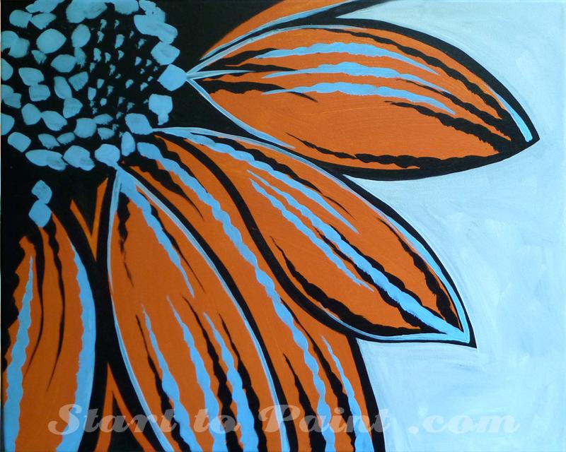 Orange and Light Blue Flower.jpg