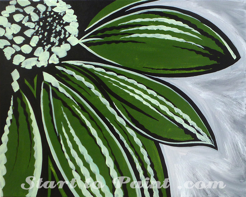 Dark Green Flower.jpg