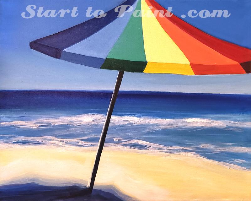Umbrella on the Beach.jpg