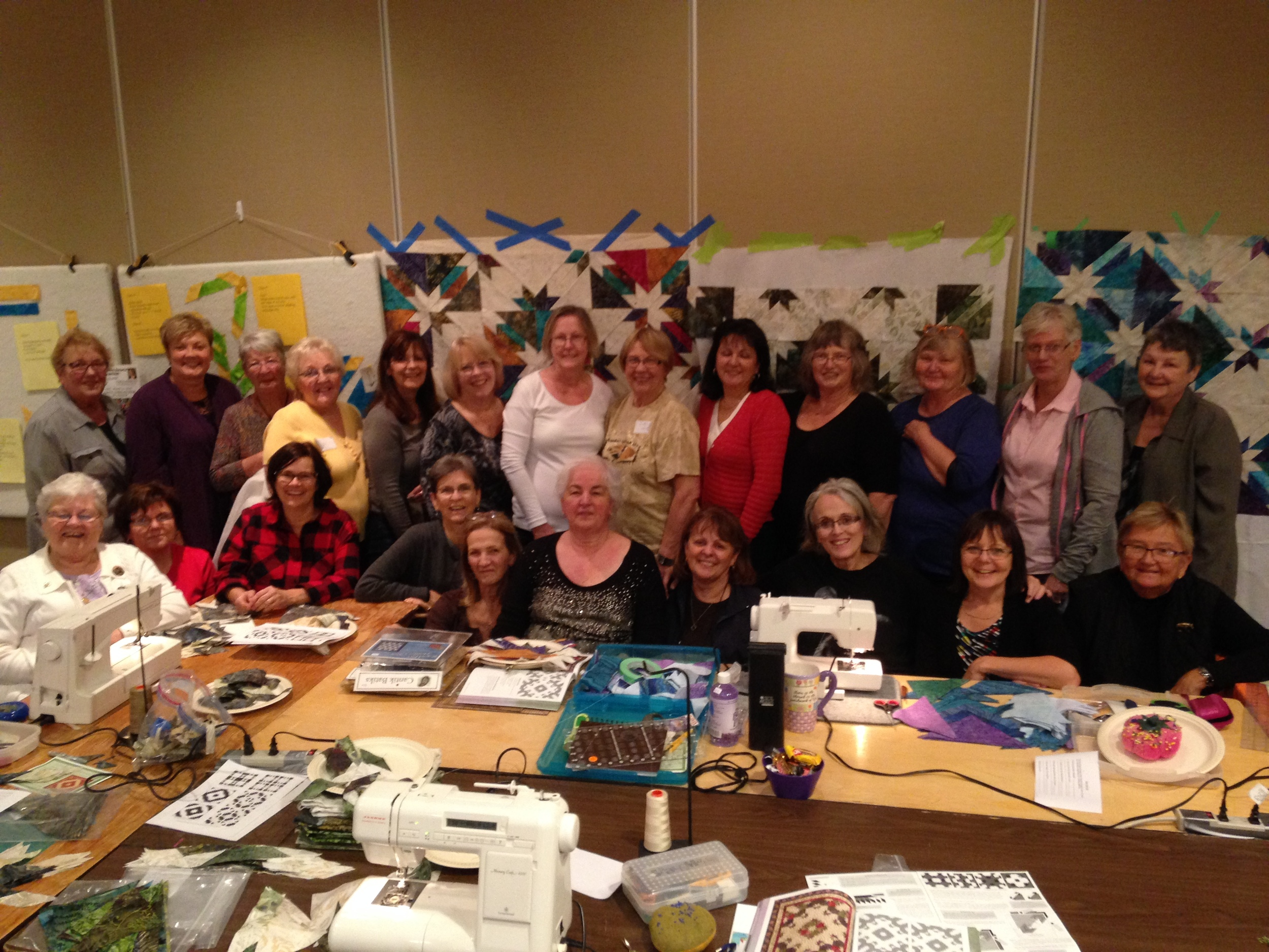 Thank you everyone for spending some special quilting time with me. Can't wait to do it again.