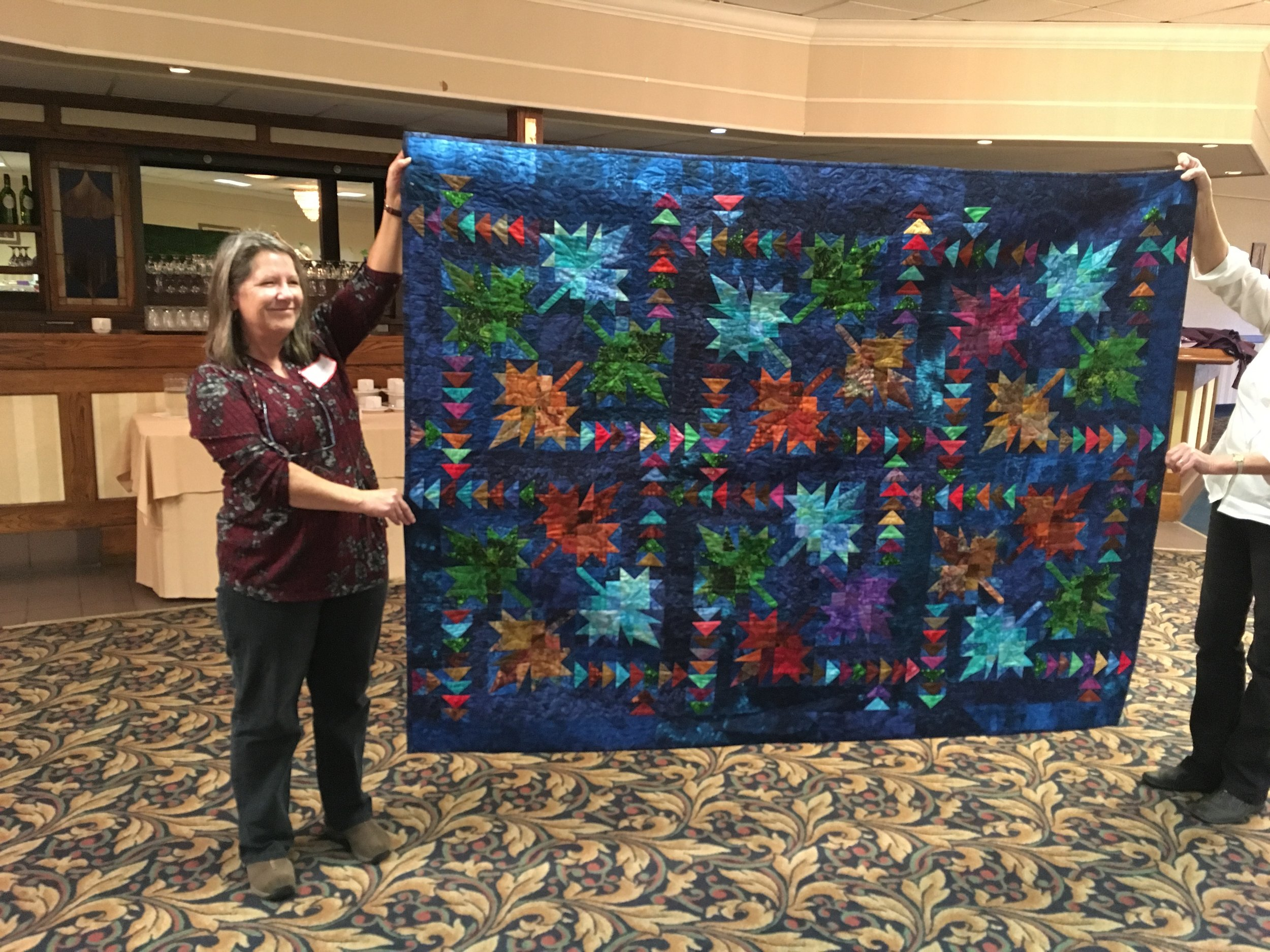 Daintry Chitaroni Northern Neighbours Quilt
