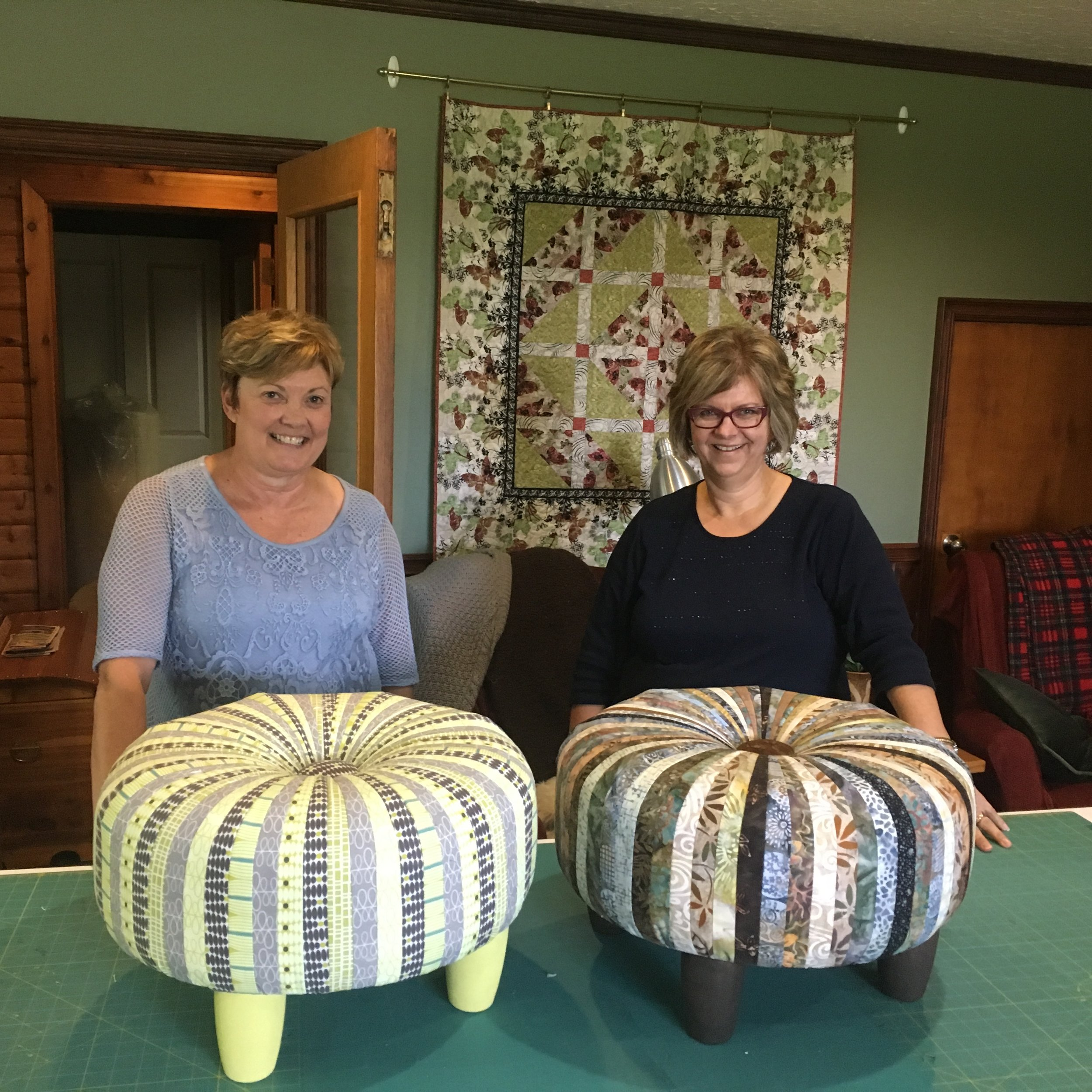 Tuffets by Deb Bakker and Marilyn Knoll