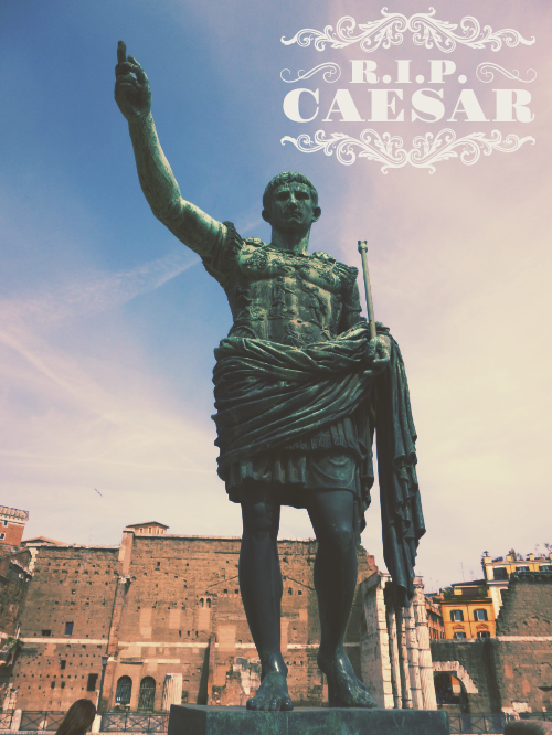 Julius Caesar: Time's Old Roman