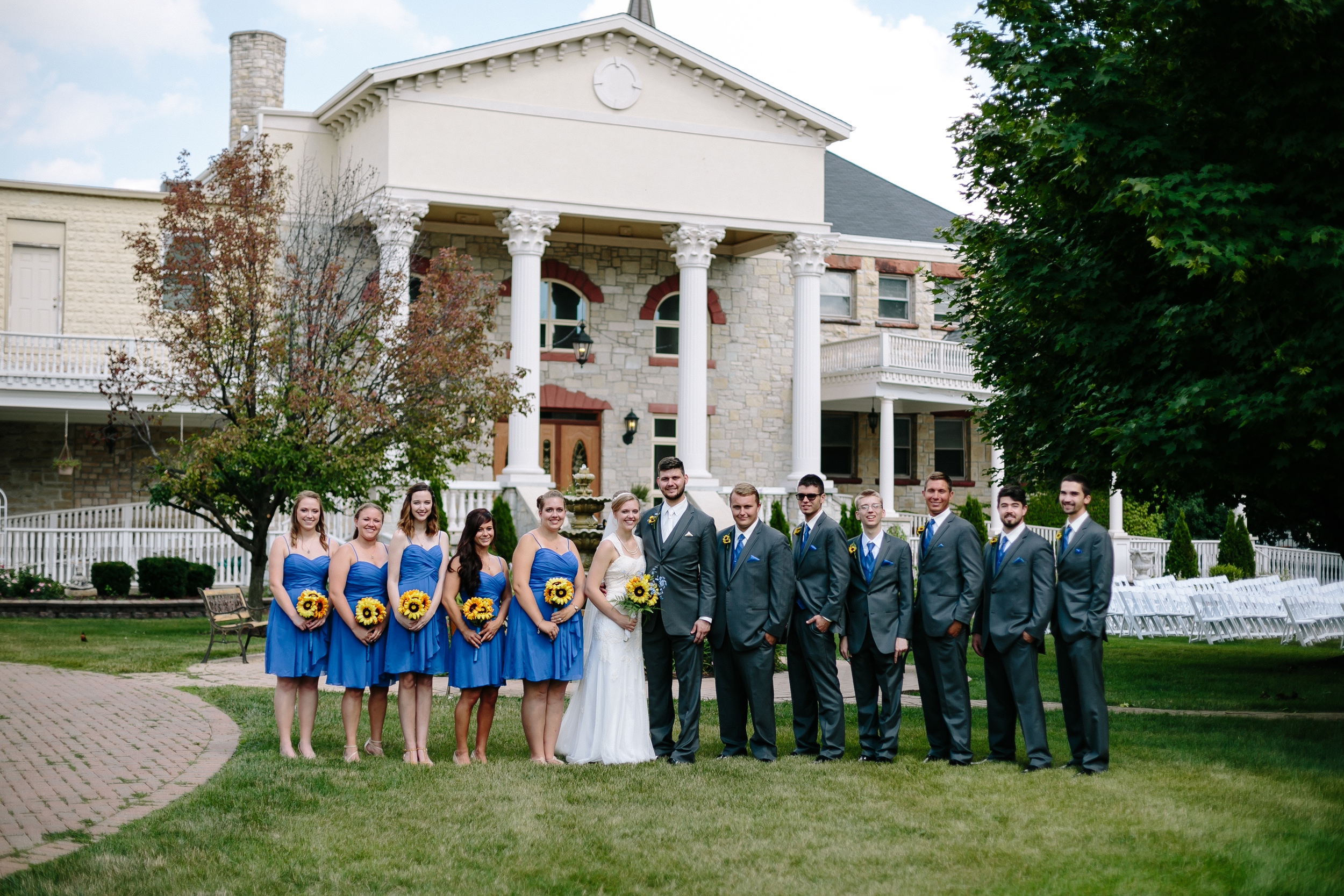 Jacob Henry Mansion Estate Joliet, Illinois - Wayne & Leanne Married - Corrie Mick Photography-165.jpg