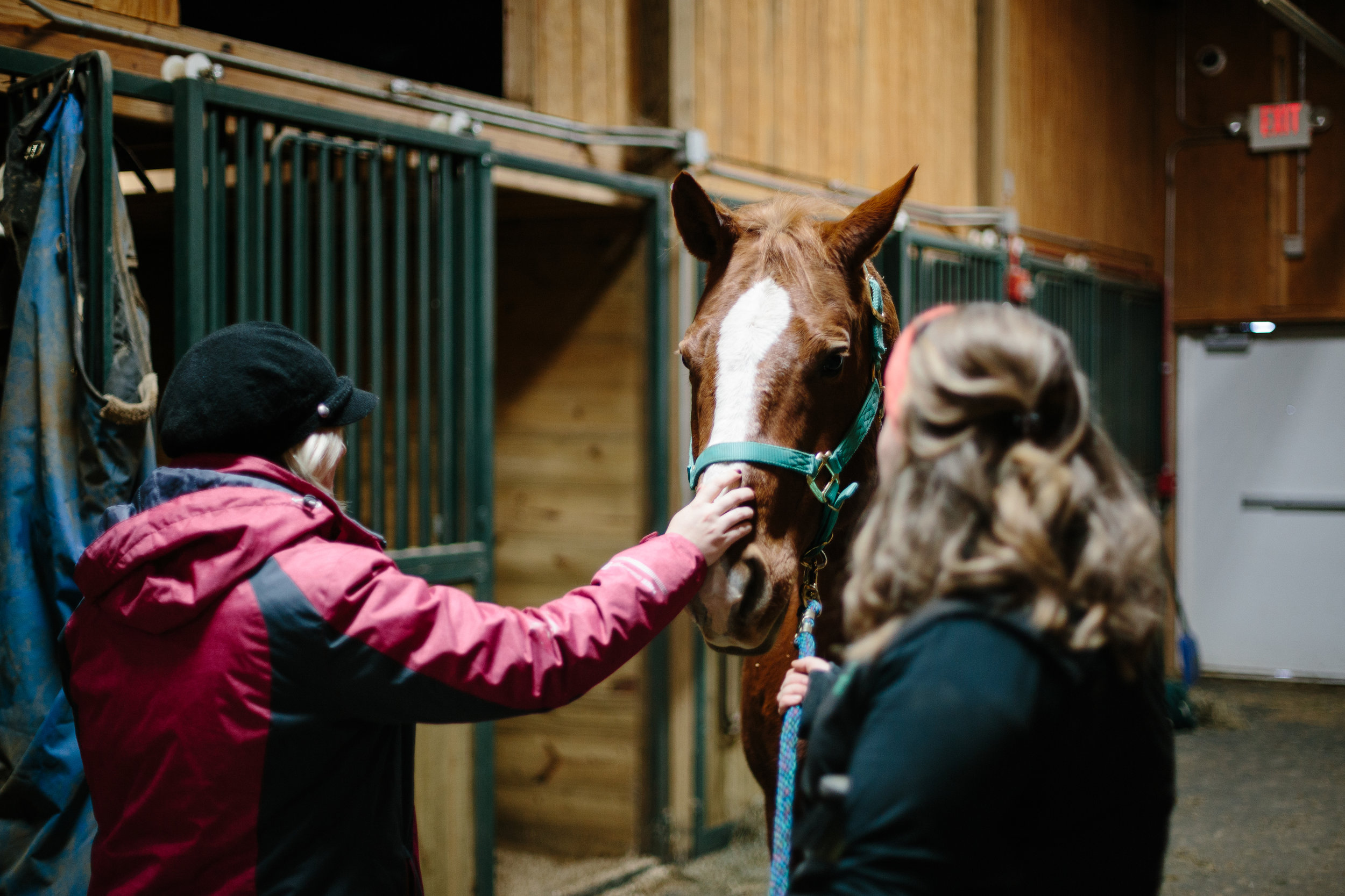 Jess & Shea at the Horse Barn in the Snow - Corrie Mick Photography-12.jpg