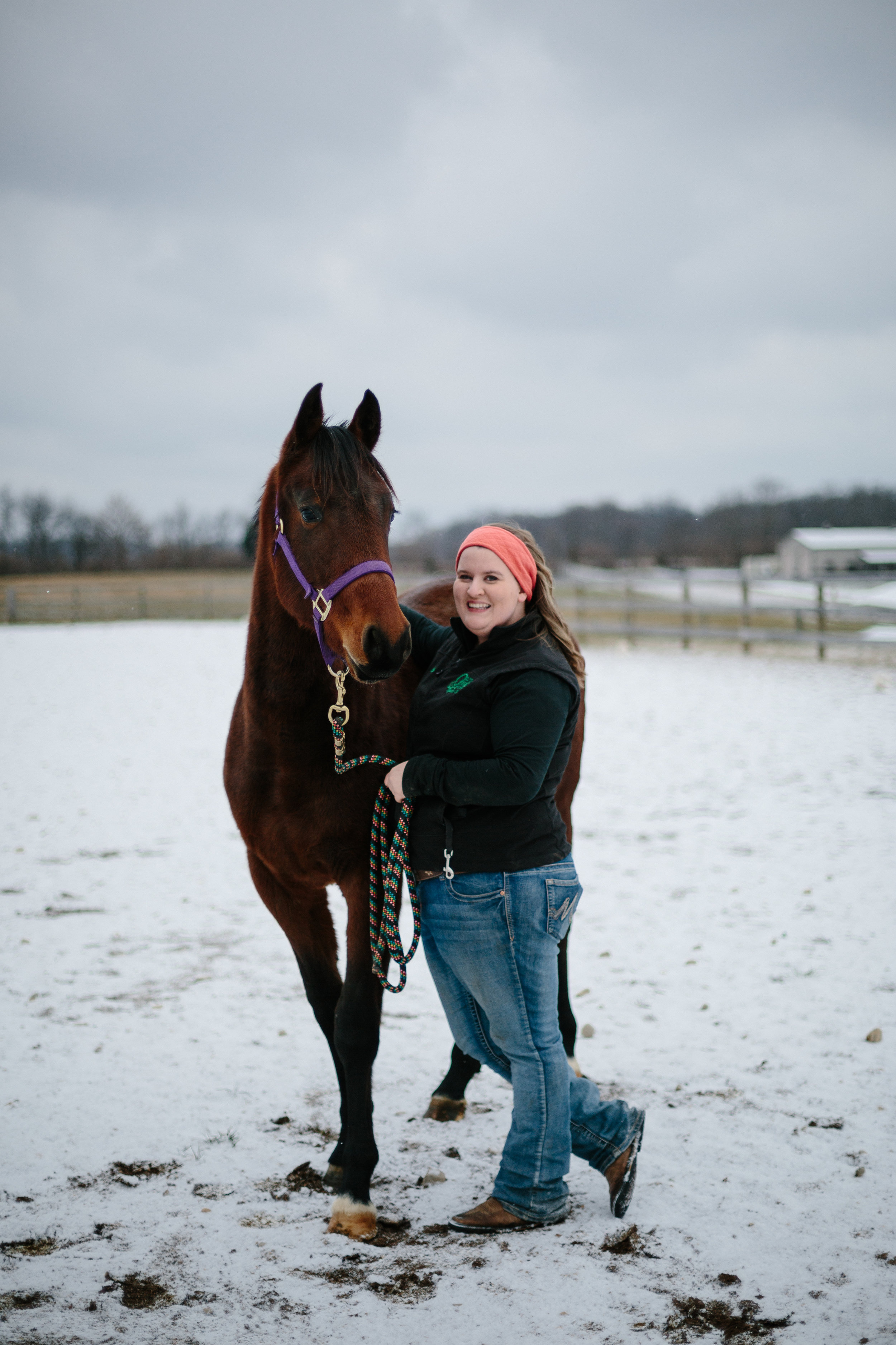 Jess & Shea at the Horse Barn in the Snow - Corrie Mick Photography-49.jpg