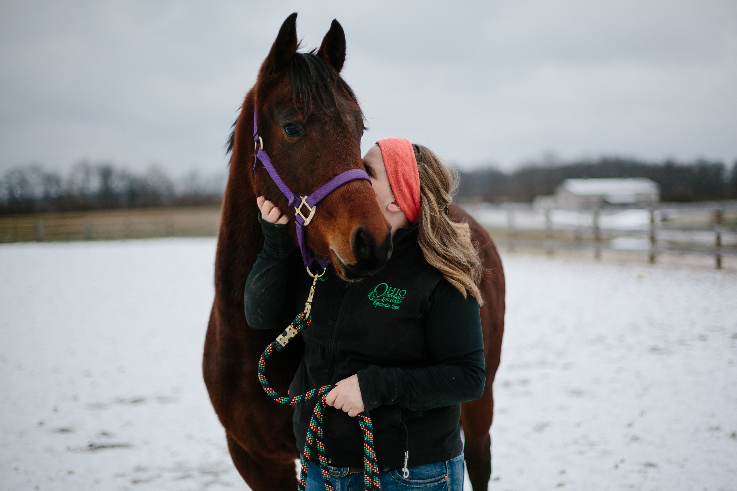 Jess & Shea at the Horse Barn in the Snow - Corrie Mick Photography-50.jpg