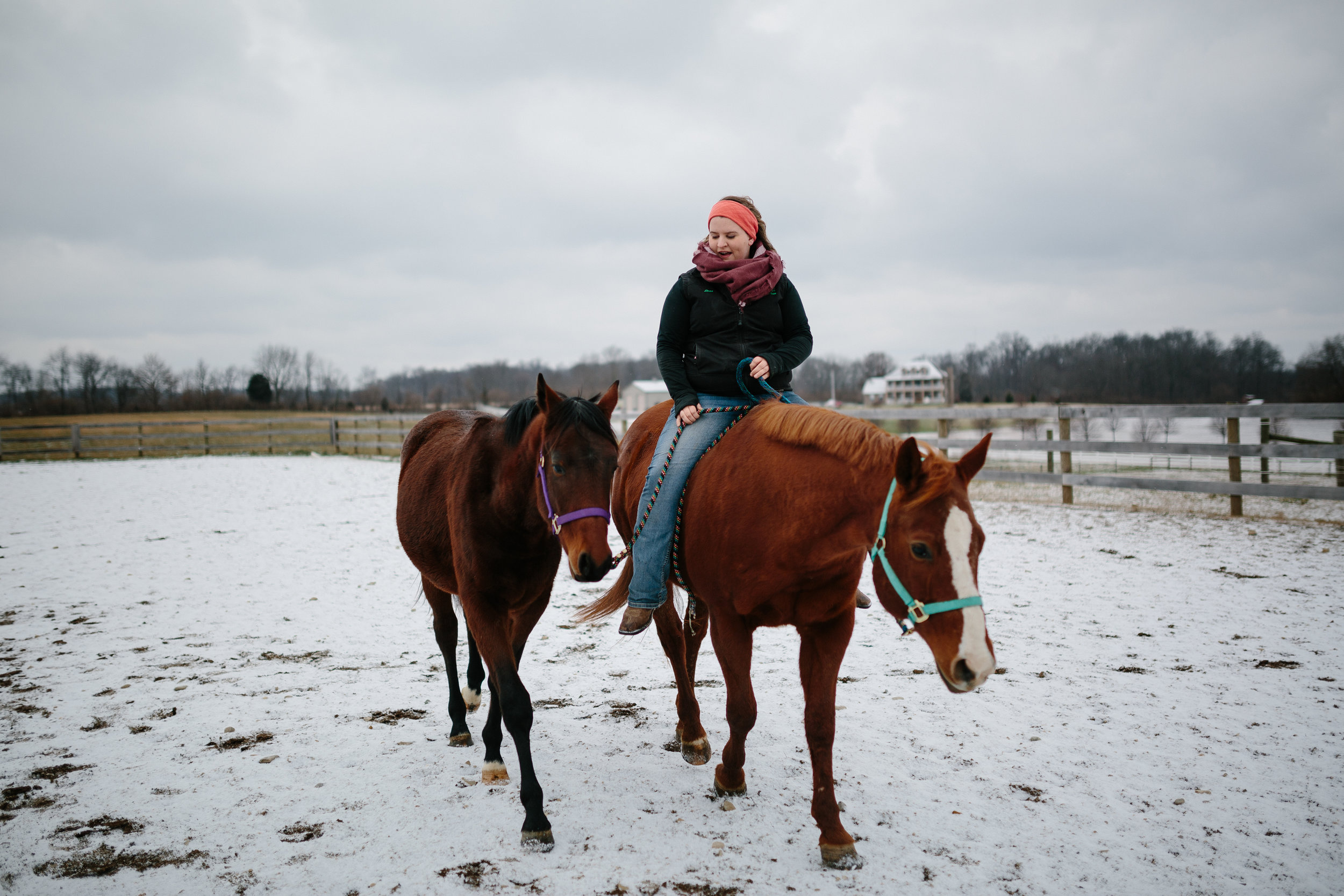 Jess & Shea at the Horse Barn in the Snow - Corrie Mick Photography-75.jpg