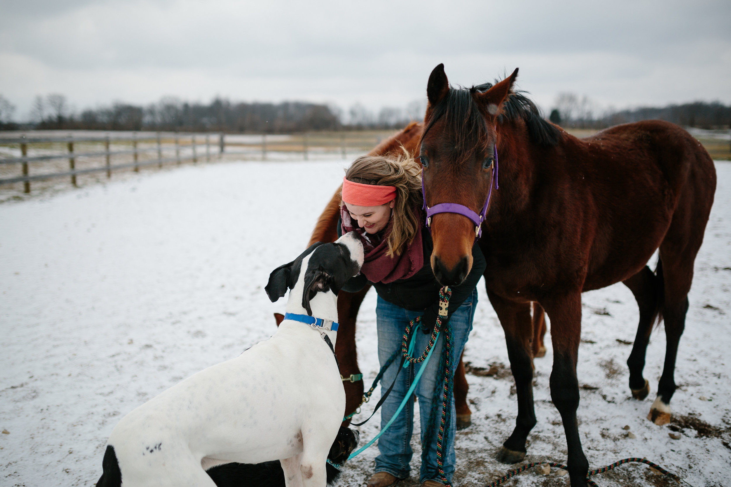 Jess & Shea at the Horse Barn in the Snow - Corrie Mick Photography-89.jpg