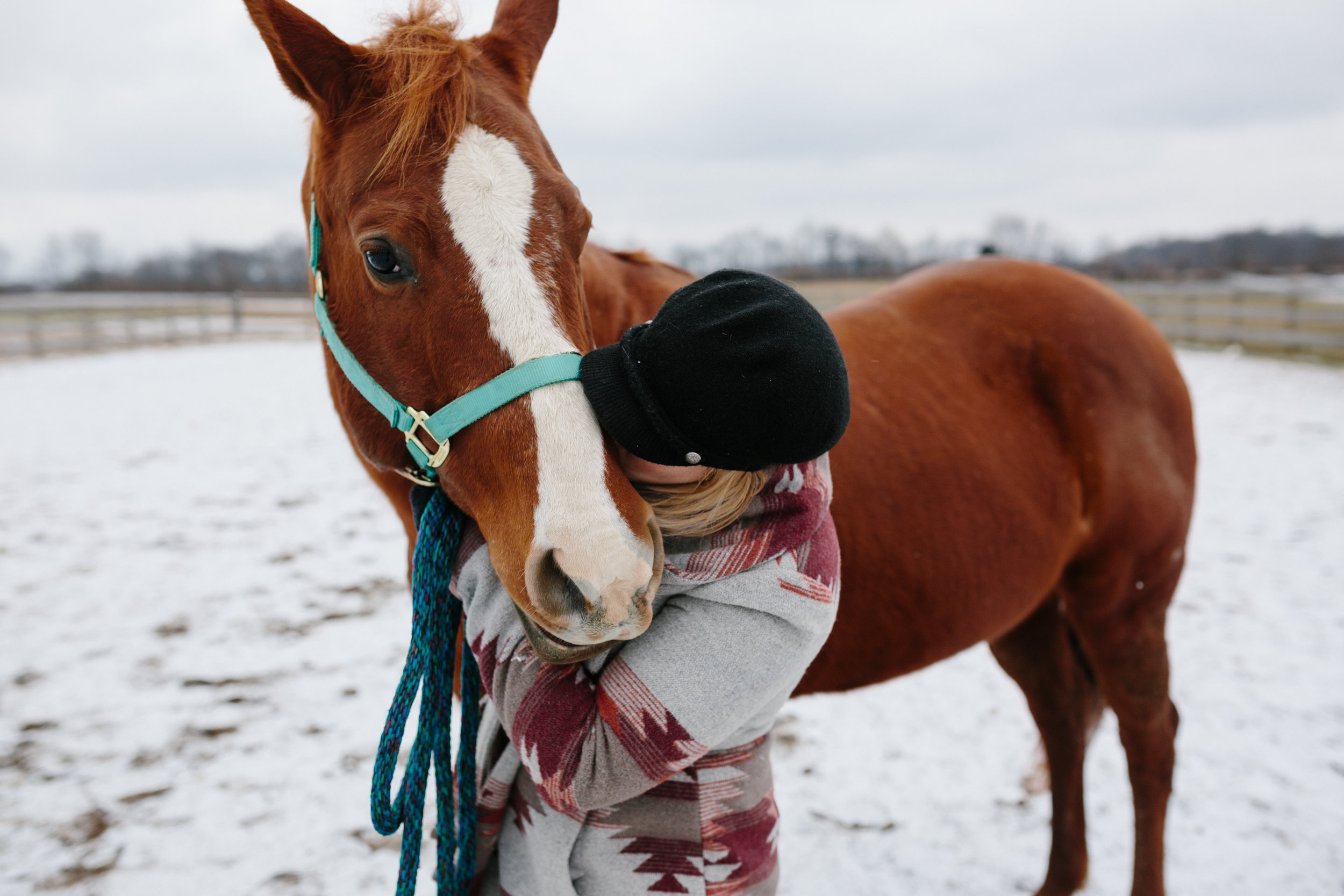 Jess & Shea at the Horse Barn in the Snow - Corrie Mick Photography-103.jpg