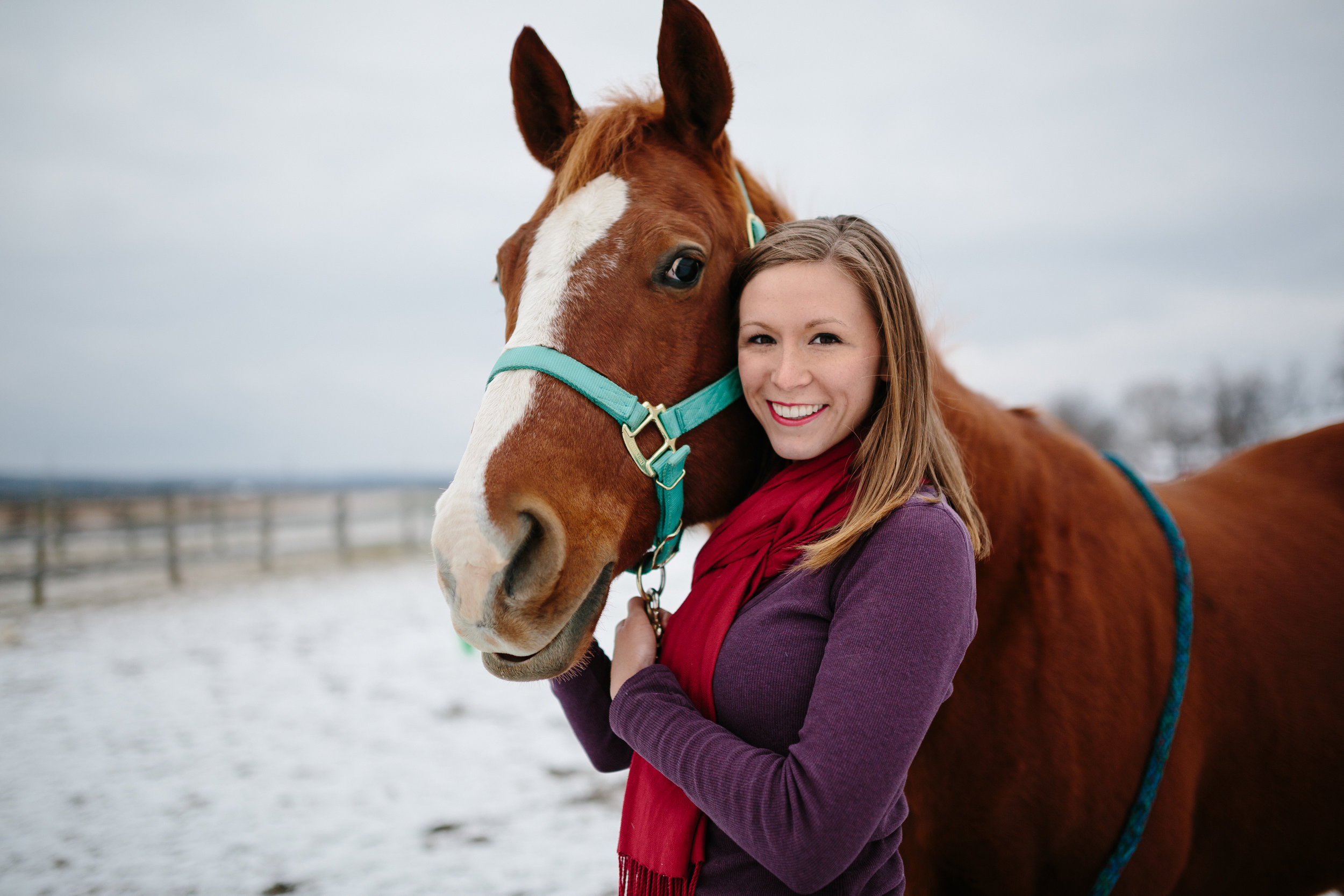 Jess & Shea at the Horse Barn in the Snow - Corrie Mick Photography-112.jpg