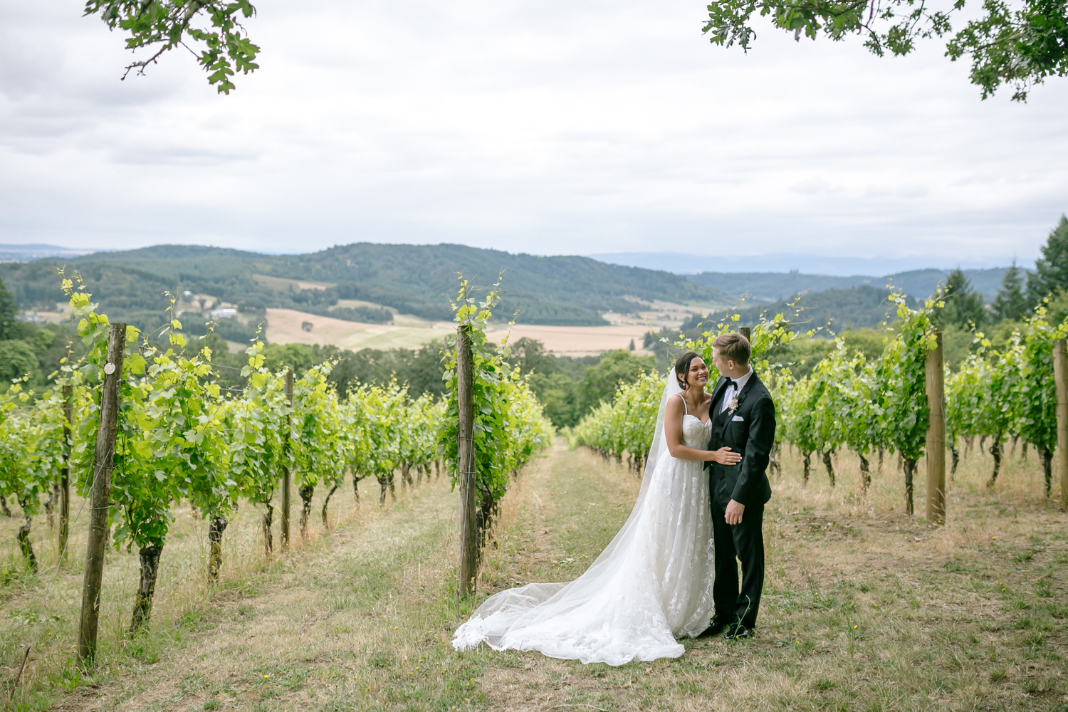 Youngberg Hill Vineyard Wedding in Wine Country Oregon - Corrie Mick Photography-43.jpg
