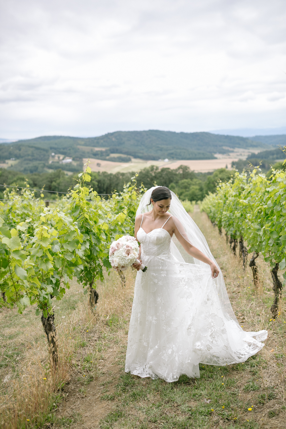 Youngberg Hill Vineyard Wedding in Wine Country Oregon - Corrie Mick Photography-71.jpg