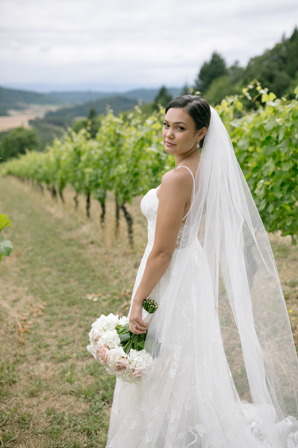 Youngberg Hill Vineyard Wedding in Wine Country Oregon - Corrie Mick Photography-78.jpg