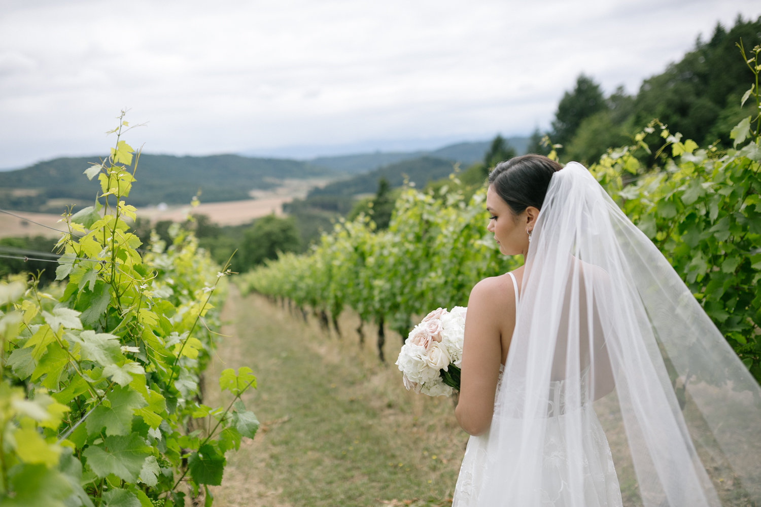 Youngberg Hill Vineyard Wedding in Wine Country Oregon - Corrie Mick Photography-77.jpg