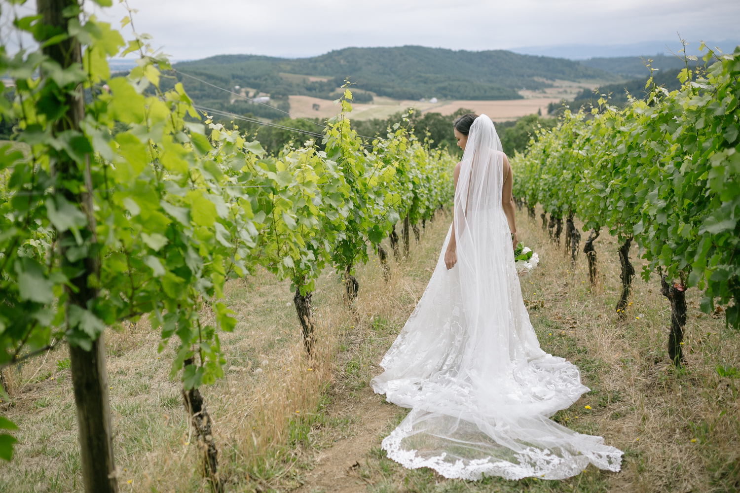 Youngberg Hill Vineyard Wedding in Wine Country Oregon - Corrie Mick Photography-83.jpg