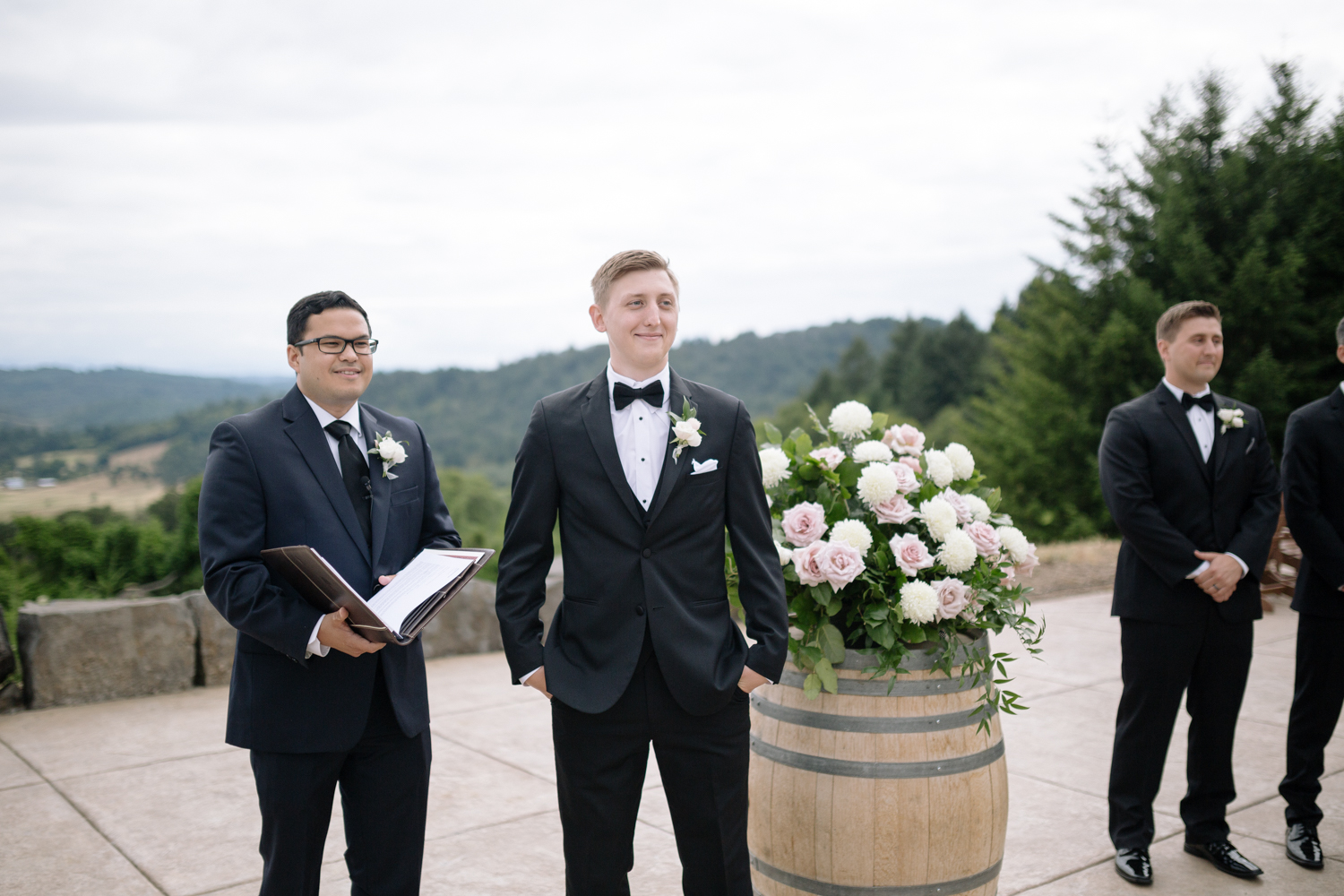 Youngberg Hill Vineyard Wedding in Wine Country Oregon - Corrie Mick Photography-270.jpg