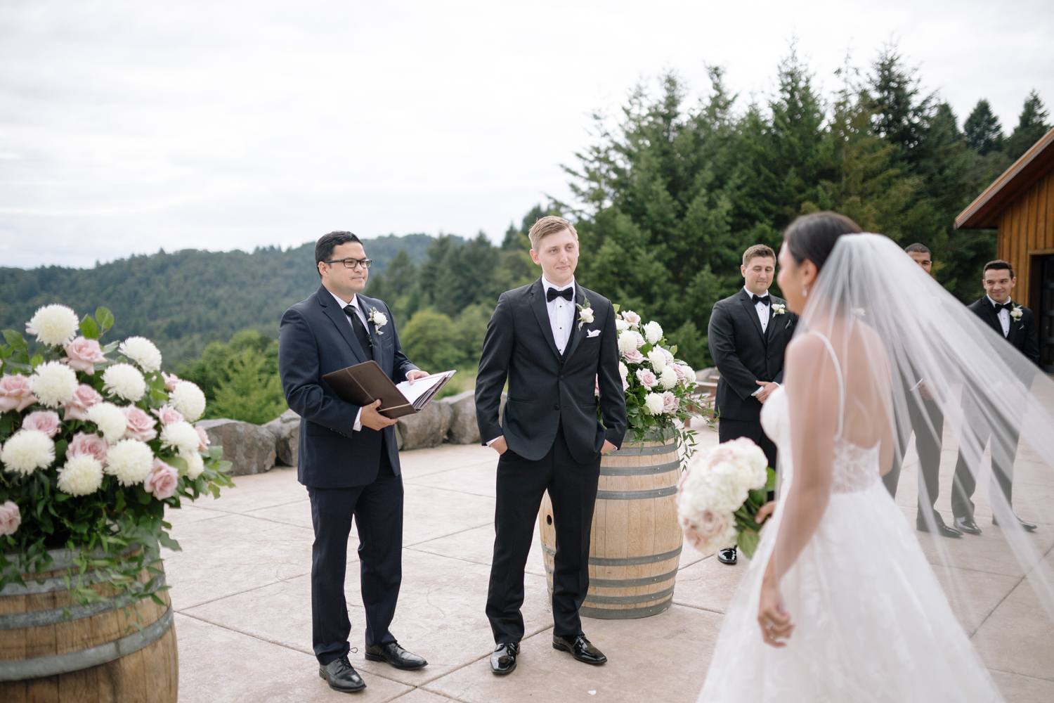 Youngberg Hill Vineyard Wedding in Wine Country Oregon - Corrie Mick Photography-273.jpg